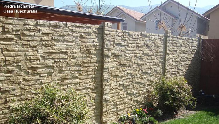 Revestimientos y piedras for Tipos de piedras para paredes exteriores